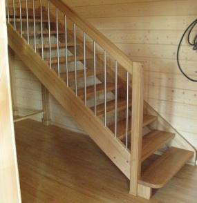 Лестницы из дерева - проектирование, изготовление, монтаж